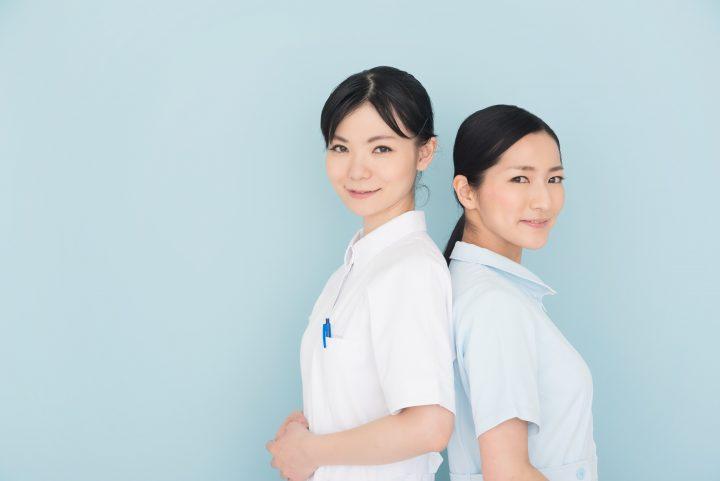 看護師 横顔